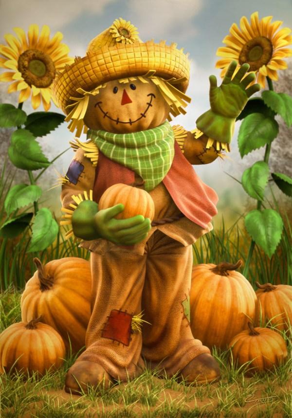 art walk scarecrow contest north