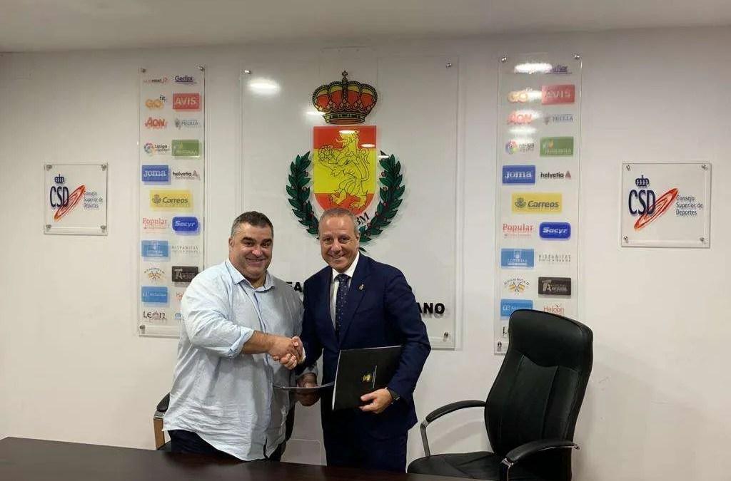 Firmado el convenio entre la Federación Cántabra y la RFEBM para la celebración del CESA