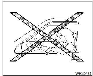 Nissan Altima: Precauciones relacionadas con el sistema de