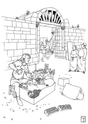 il·lustració_història_medieval_Besalú