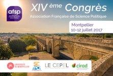 14ème Congrès de l'Association Française de Science Politique (AFSP)