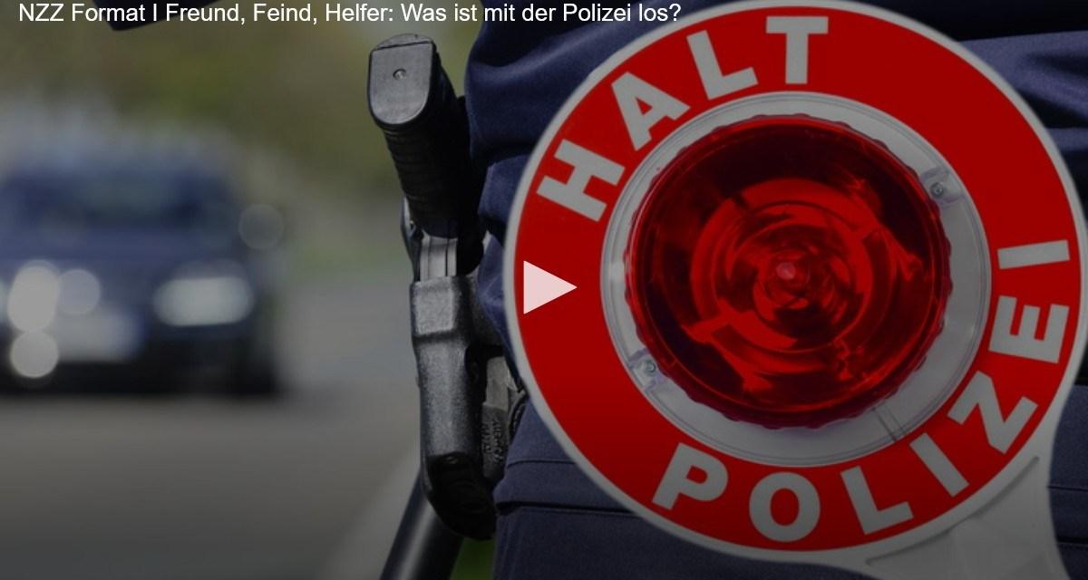 Freund, Feind, Helfer: Was ist mit der Polizei los?