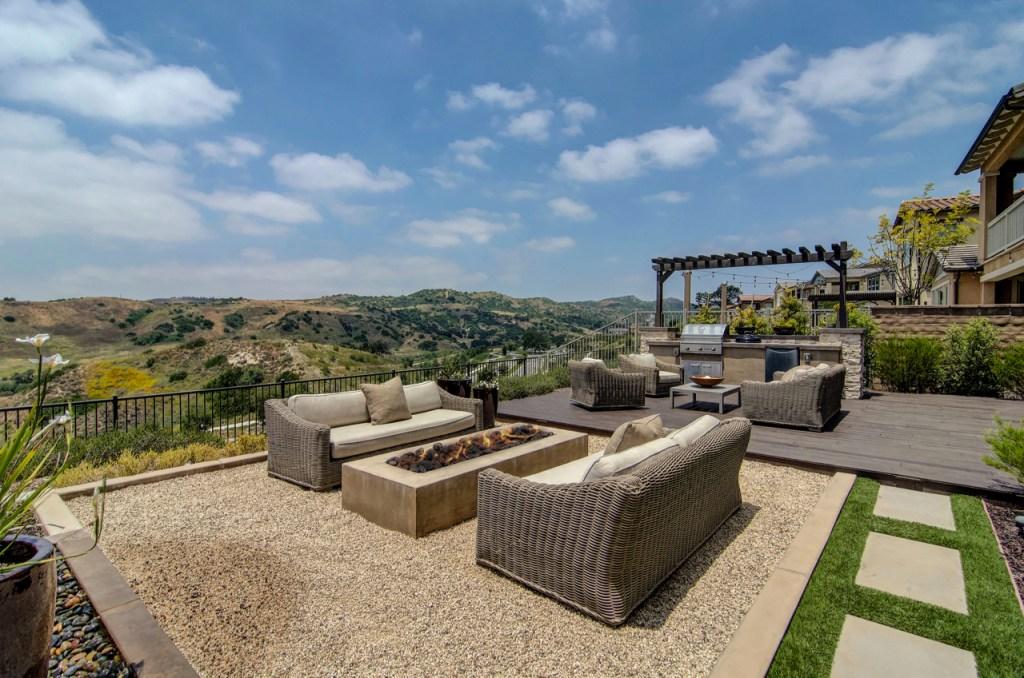 Backyard View Rancho Mission Viejo