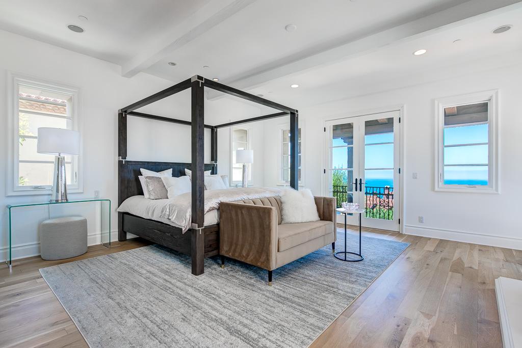 Master Bedroom Newport Coast
