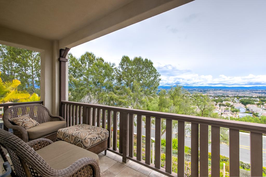 Balcony View Aliso Viejo