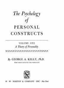 The Psychology of Personal Constructs 3