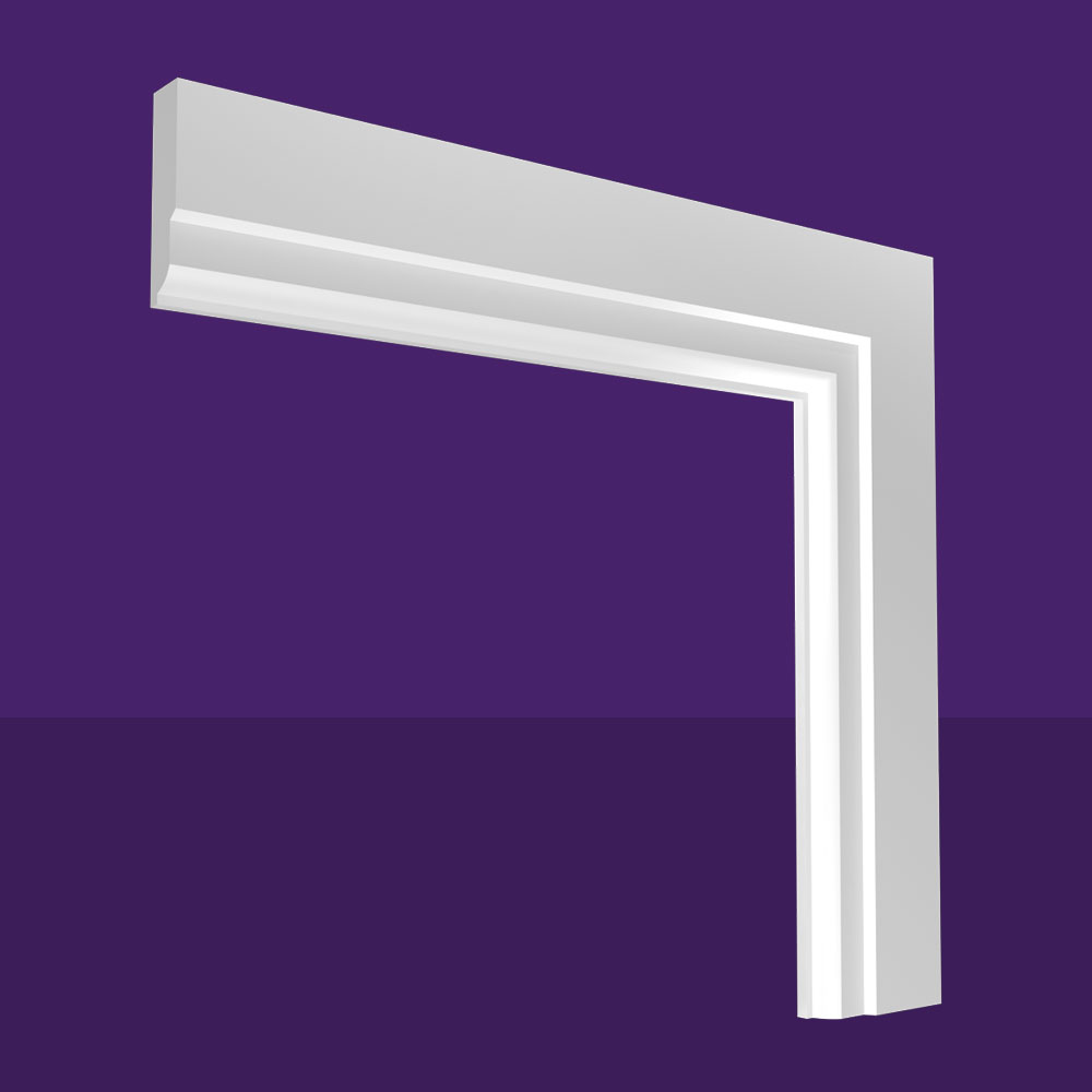 Fluted Lambstongue Architrave