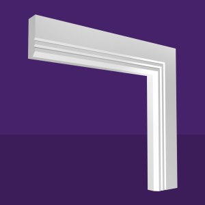 Single Chamfer & 2 V Grooves Architrave
