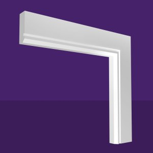 Single Chamfer & Single Square Groove Architrave