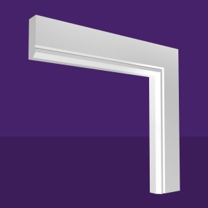 Single Chamfer & Single V Groove Architrave