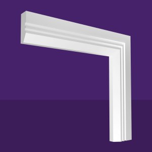 Single Splay & 2 Square Grooves Architrave