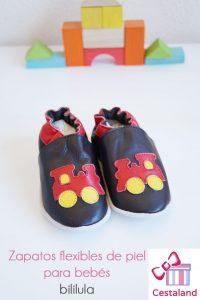 zapatos flexibles para bebés