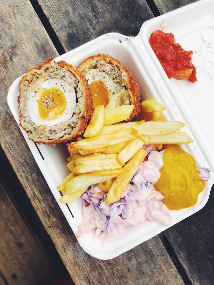 Scotch Egg Finest Fayre BRoadway Market