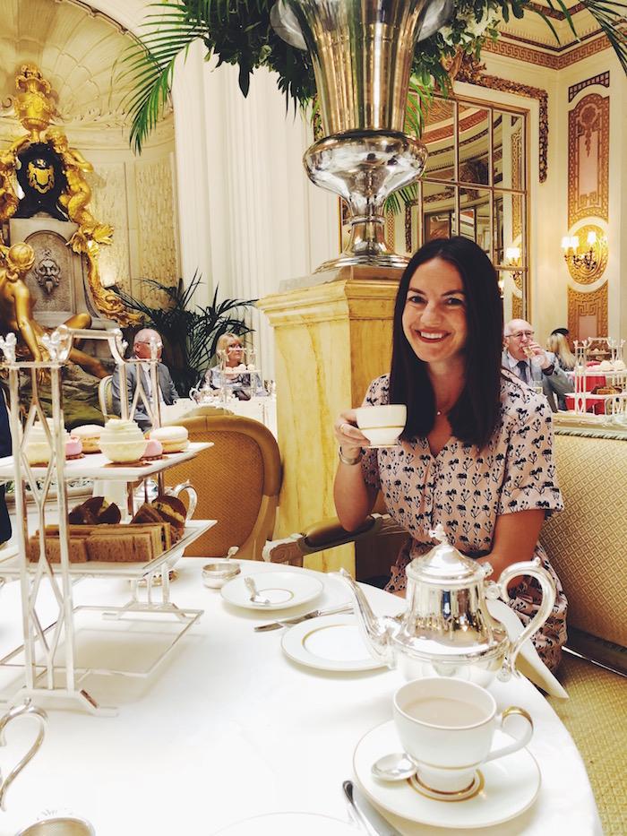 afternoon tea ritz carlton london