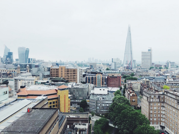 Tate Modern rooftop view