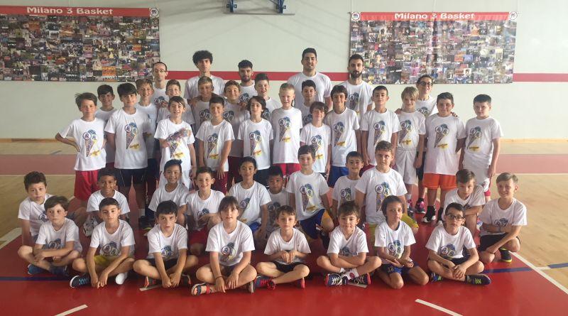 E' iniziato il Minibasket City Camp 2018!!!