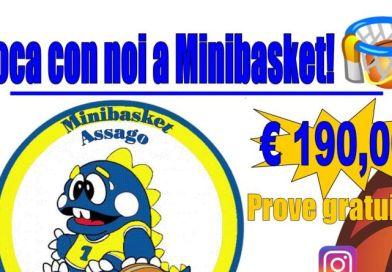 Settore Minibasket: tutte le informazioni per la nuova stagione