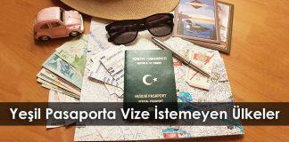 Gezi Rehberi Ye  il Pasaporta Vize   stemeyen   lkeler 2017