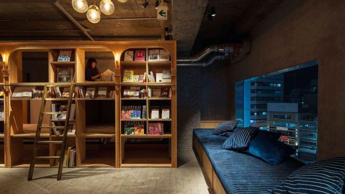 Book And Bed Tokyo, Tokyo, Japonya  Dünyanın En Sıradışı 10 Oteli Book And Bed Tokyo Tokyo Japonya