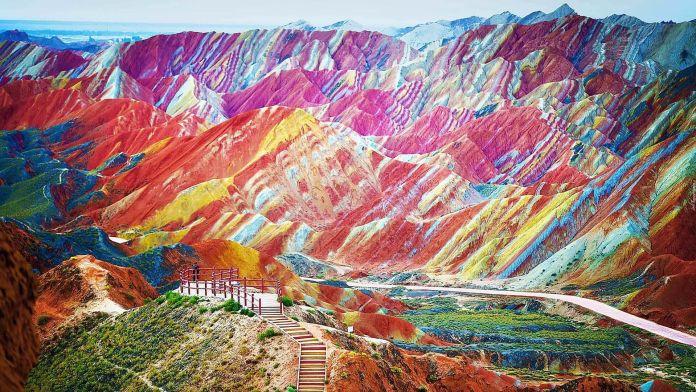 Zhangye Ulusal Jeopark, Çin  Asya'nın 7 Doğal Harikası Zhangye Ulusal Jeopark   in