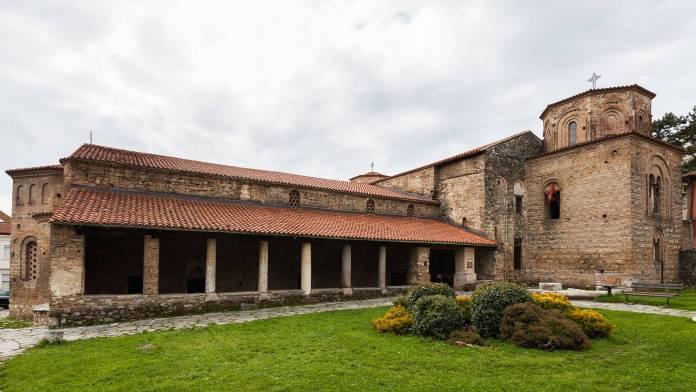Ohri Ayasofya Kilisesi makedonya gezilecek yerler Makedonya Gezilecek Yerler Ohri Ayasofya Kilisesi 696x392