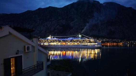 Kotor Körfezinde Cruise Gemisi Cruise (Gemi Turları) Nedir? Kotor Cruise