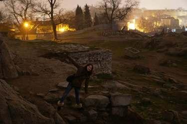 Filibe, Bulgaristan Plovdiv (Filibe)'de Gezilecek Yerler Plovdiv Nebet Tepe Eski Yerle im Yeri