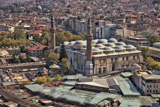 Bursa Gezilecek Yerler Ulu Cami