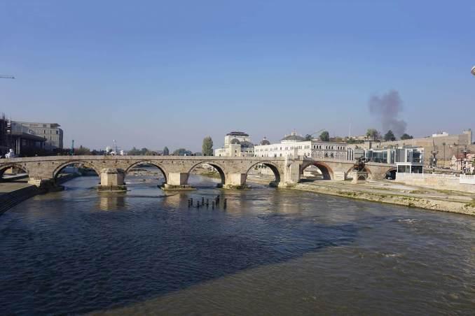 Makedonya Üsküp Taş Köprü