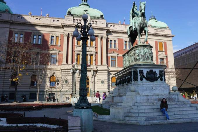 Belgrad Sırbistan Ulusal Müzesi