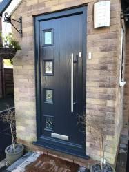 porch door 108