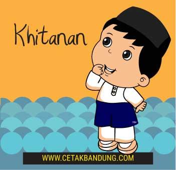 Harga Kartu Undangan Khitanan di Bandung
