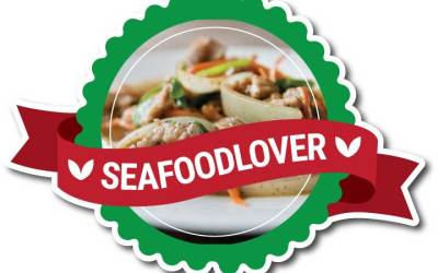 Stiker Label Makanan Unik