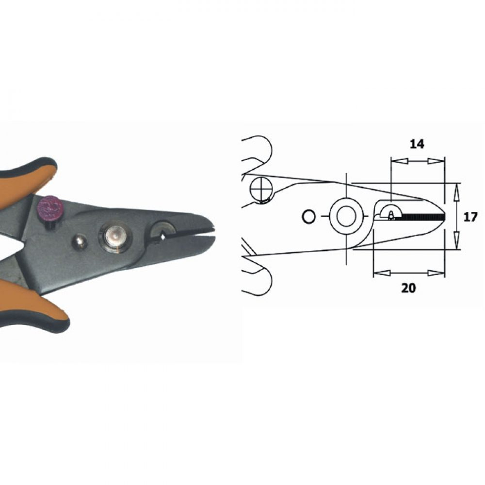 hight resolution of shear wire stripper esd