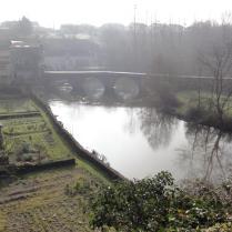 Au pont de Mallièvre le 11 mars 2014 à 10:00