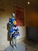 La star de l'exposition : la robe en réalité augmentée !