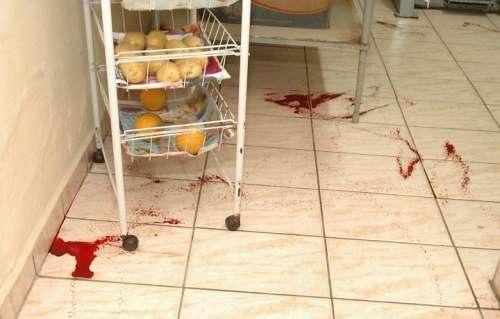 A casa que jorrava sangue! Com fotos!