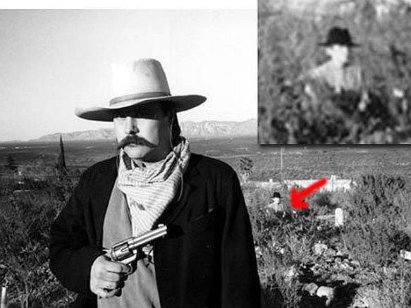 O fantasma de um cowboy