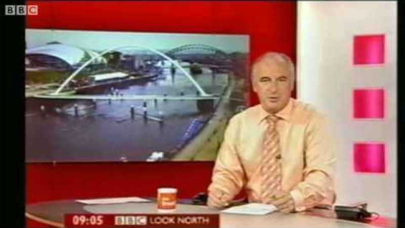 OVNI capturado por webcam da BBC?