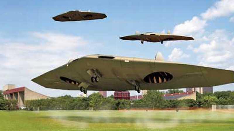 Quatro aviões super-ultra-secretos da Área 51