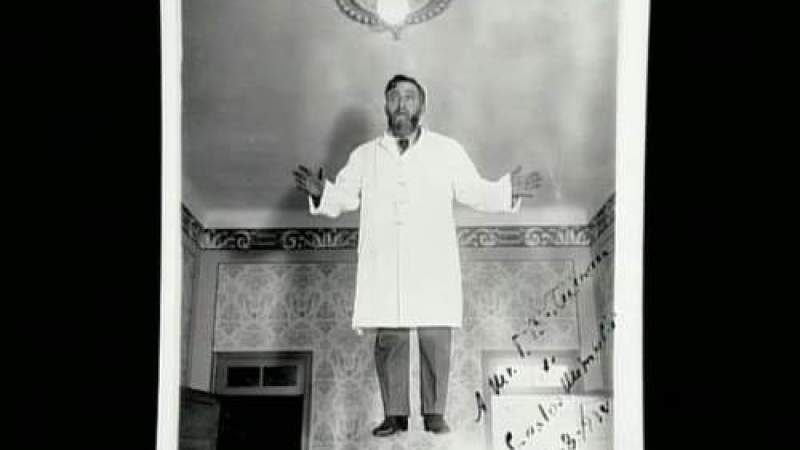A levitação do médium Mirabelli