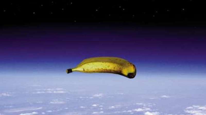Banana gigante sobre o Texas
