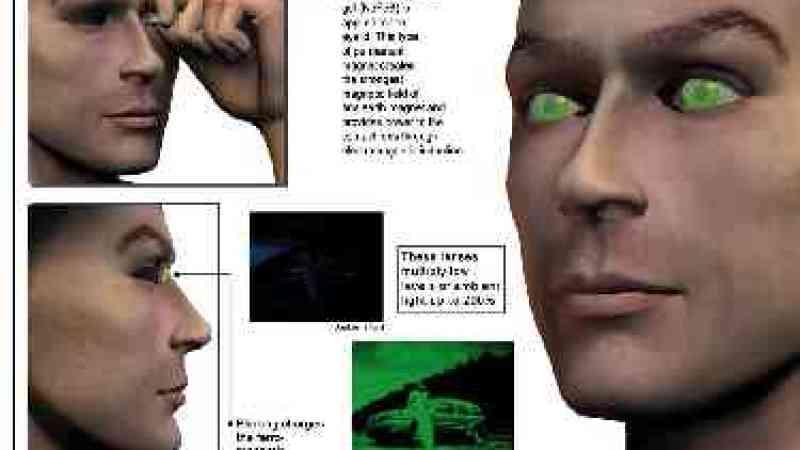 Colírio alucinógeno dá visão noturna