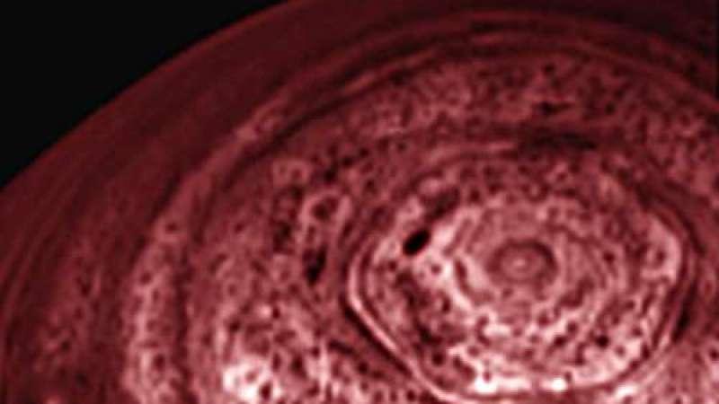 O Grande Hexágono de Saturno