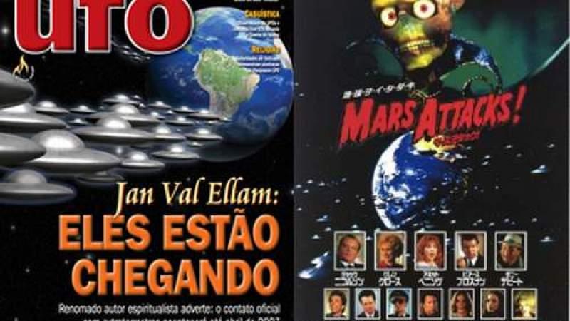 """""""Bomba"""": Revista UFO anuncia o retorno de Jesus, repetindo aposta de mais de dez anos"""