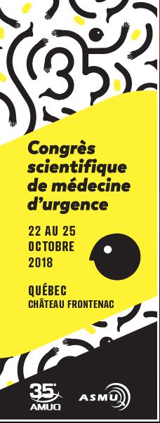 AMUQ 35e Congrès 2018