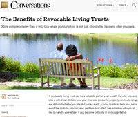 The Benefits of Revocable Living Trusts - Wells Fargo Conversations