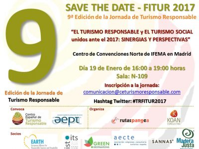 SAVE THE DATE FITUR 2017