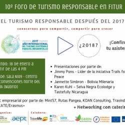 10 Foro Turismo Responsable FITUR-CETR