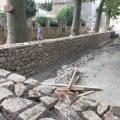 aménagement de la place du village de Talairan
